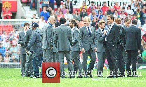 Zinedane Zidane and Gordon Ramsay Various athletes and...