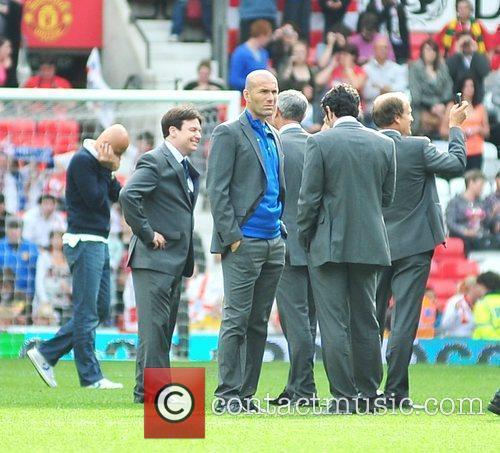 Zinedane Zidane Various athletes and celebrities attend the...