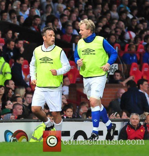 Robbie Williams and Gordon Ramsey 1