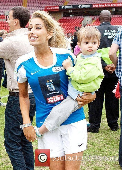 Stacey Solomon 2010 Soccer Six tournament at Charlton...