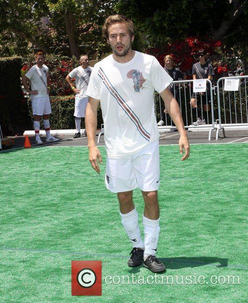 Michael Stahl-David Fortune Sun Soccer Sunday held At...
