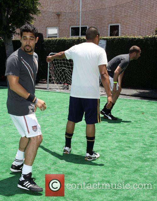 Wilmer Valderrama Fortune Sun Soccer Sunday held At...