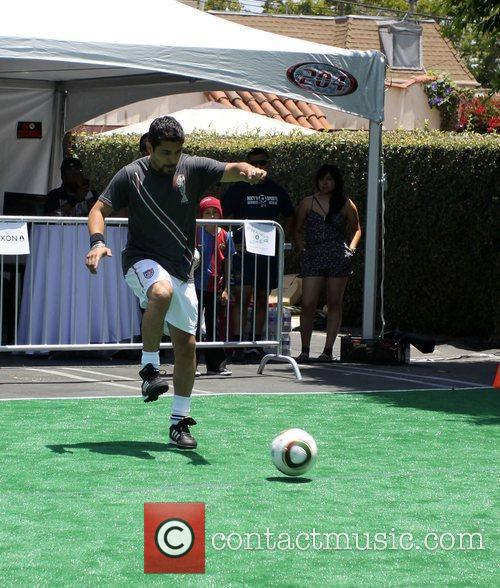Fortune Sun Soccer Sunday held At Fred Segal