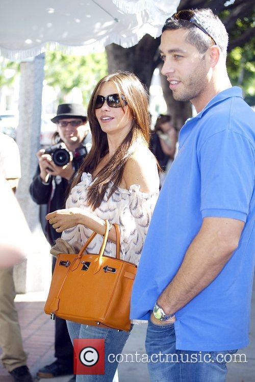 Sofia Vergara of the TV show Modern Family,...