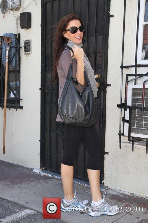 Arriving at a nail salon in Santa Monica...