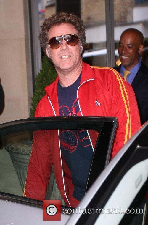 Will Ferrell at the Soho hotel London, England