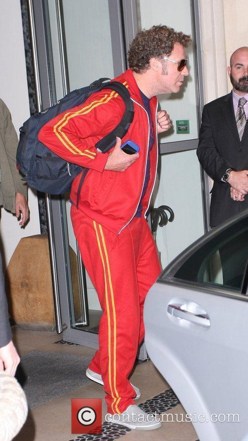 Will Ferrell at the Soho hotel