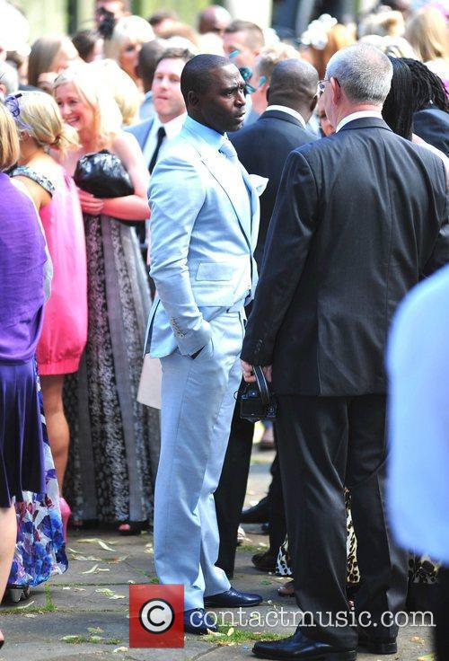 Andrew Cole The wedding of Sol Campbell and...