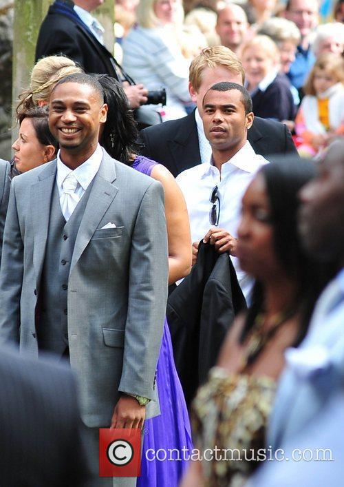 Ashley Cole The wedding of Sol Campbell and...