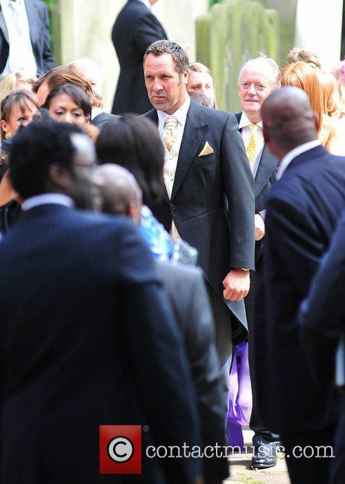 David Seaman The wedding of Sol Campbell and...