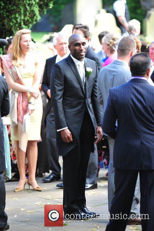 Sol Campbell The wedding of Sol Campbell and...