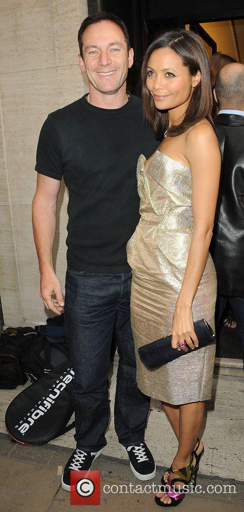 Jason Isaacs and Thandie Newton  at the...