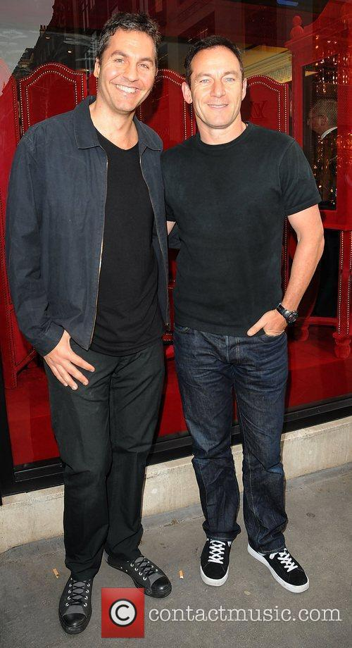Jason Isaacs and Guest  at the launch...