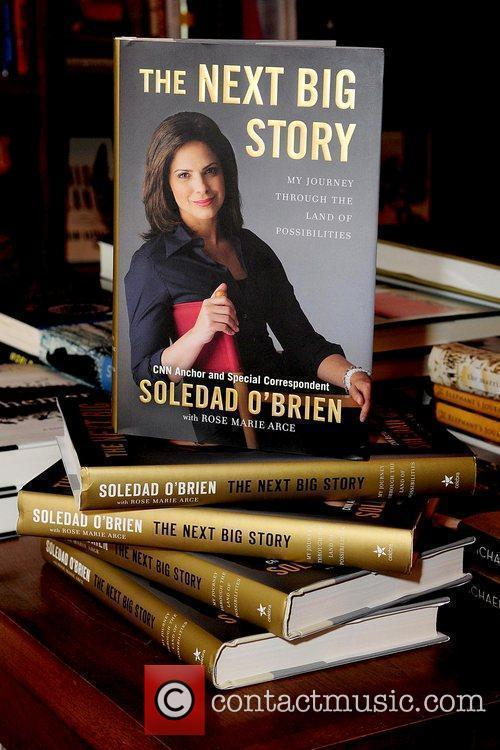 Atmosphere television personality Soledad O'Brien discusses and signs...