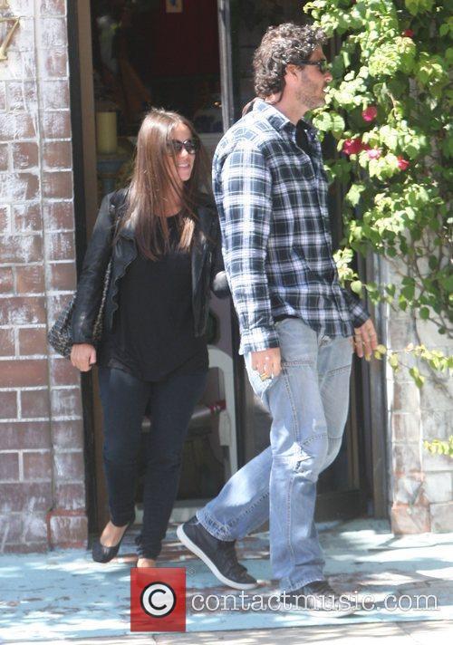 Soleil Moon Frye and her husband, Jason Goldberg...