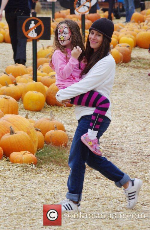 Soleil Moon Frye  takes her daughter to...