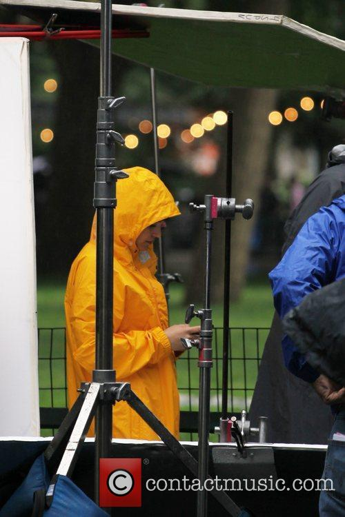 Ginnifer Goodwin  on the set of the...