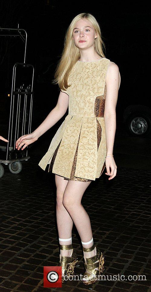 Elle Fanning attends screening of 'Somewhere' at the...