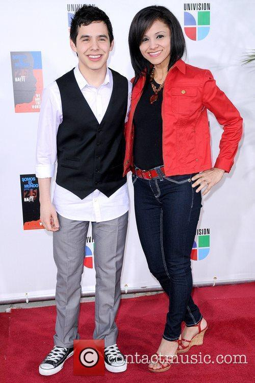 David Archuleta and Lupe Marie Latin artists appear...