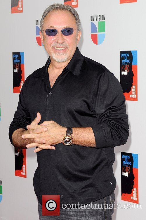 Emilio Estefan Latin artists appear to record 'Somos...