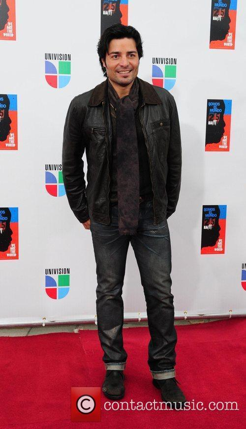Chayanne  Latin artists appear to record 'Somos...