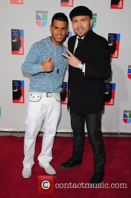 Tito El Bambino and Poncho Lizarraga