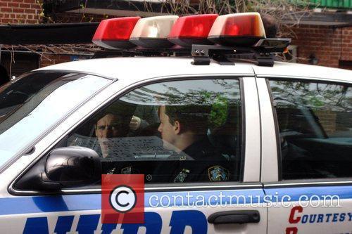 James Ransone and Channing Tatum on the set...
