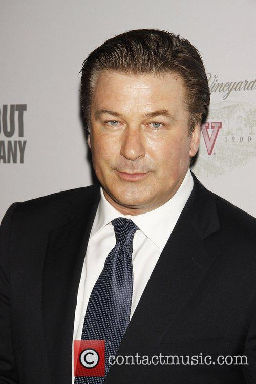 Alec Baldwin attending 'Sondheim 80' at The Roundabout...