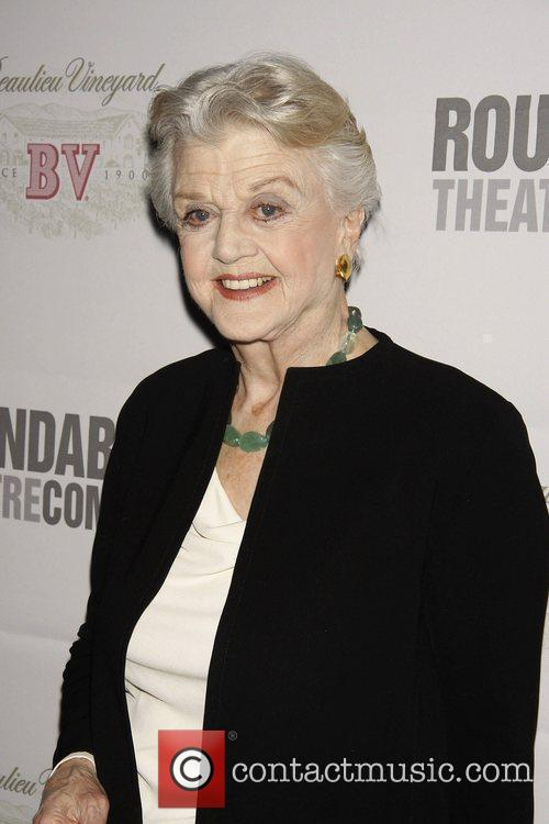 Angela Lansbury attending 'Sondheim 80' at The Roundabout...