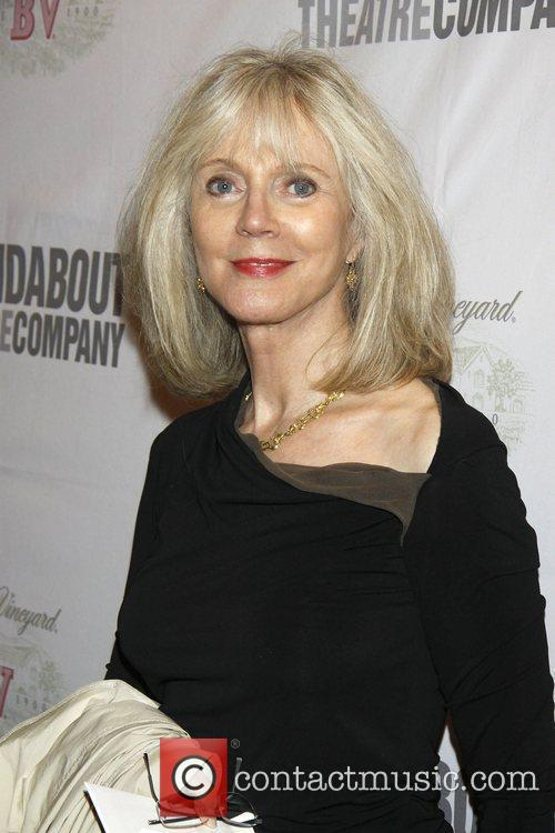 Blythe Danner The opening night of the Roundabout...