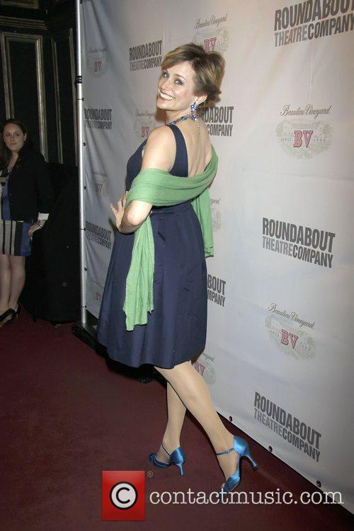 Cady Huffman The opening night of the Roundabout...