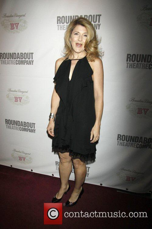 Victoria Clark The opening night of the Roundabout...