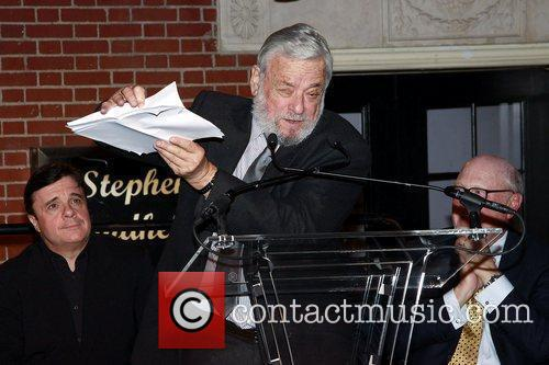 Nathan Lane, Stephen Sondheim, Tom Tuft The Stephen...
