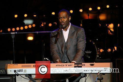 Brian McKnight  performs at the 'Songs For...