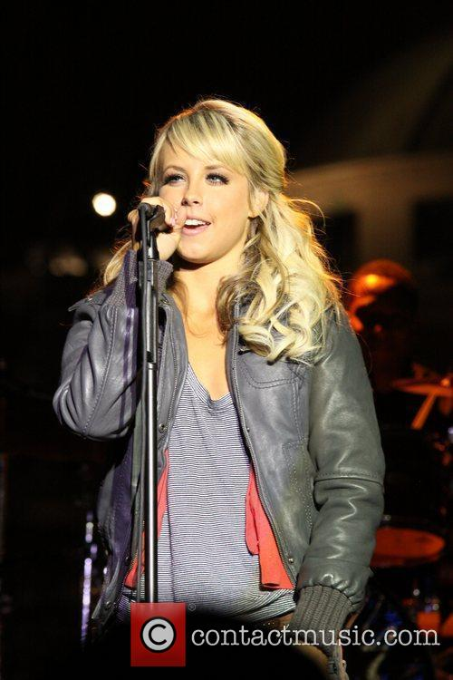 Chelsie Hightower performs at 'Songs For Hope' A...
