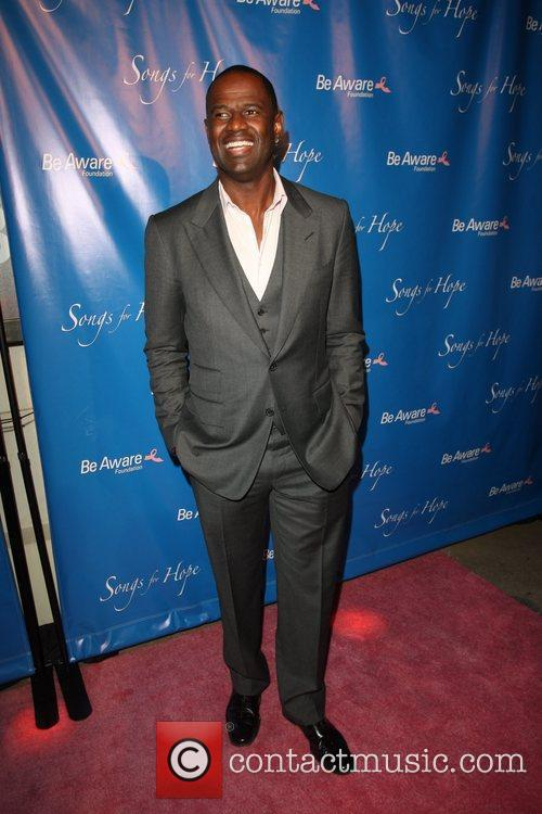 Brian McKnight  'Songs For Hope' event, held...