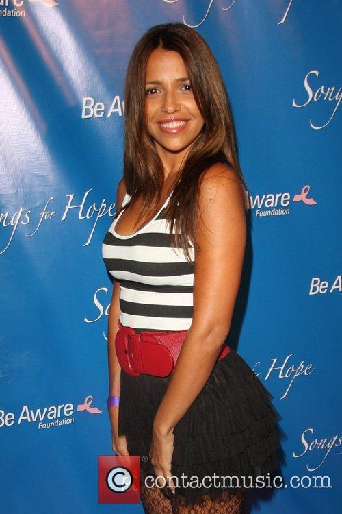 Vida Guerra 'Songs For Hope' event, held at...