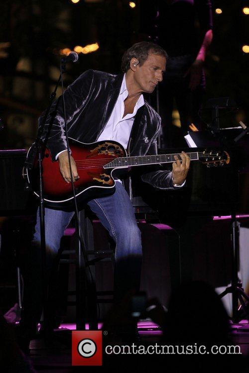 Michael Bolton performs at the 'Songs For Hope'...