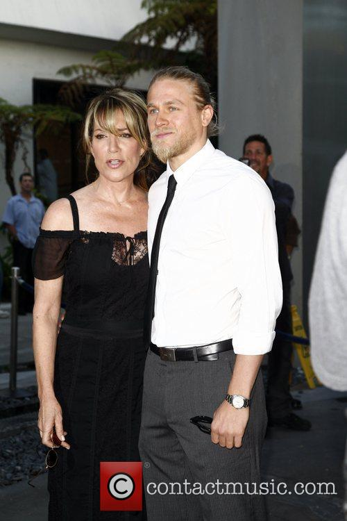 Katey Sagal and Charlie Hunnam  FX's 'Sons...