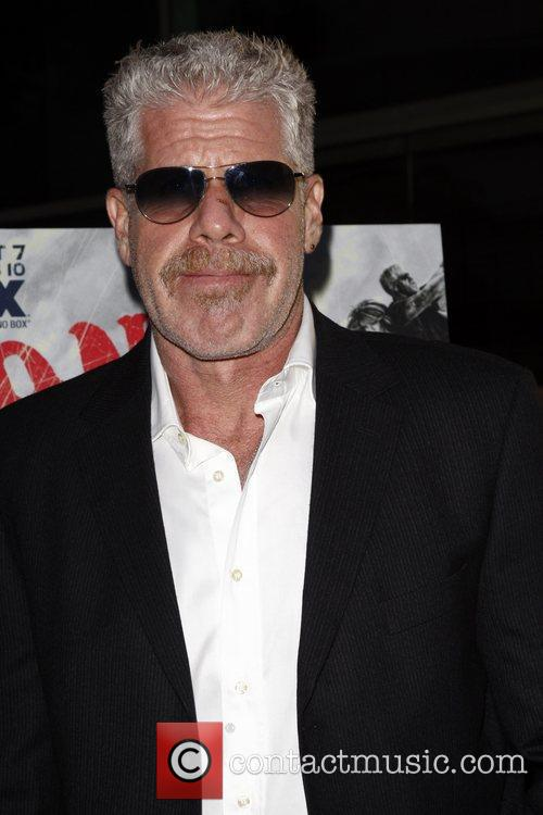 Ron Perlman FX's 'Sons Of Anarchy' season 3...