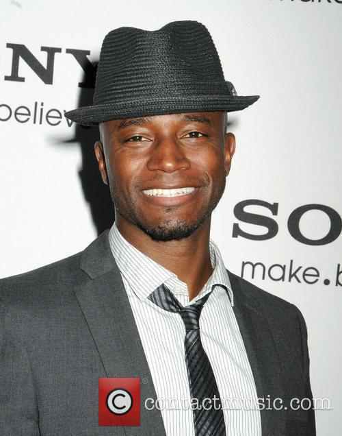 Taye Diggs,  at the unveiling of the...