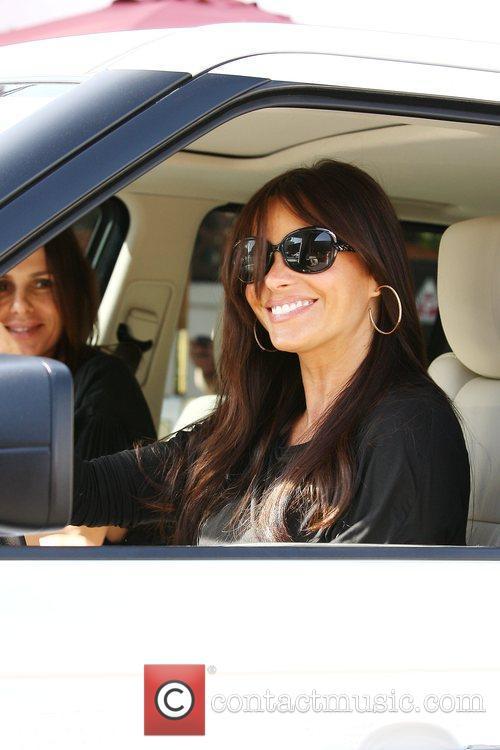 'Modern Family' star Sofia Vergara and a friend...