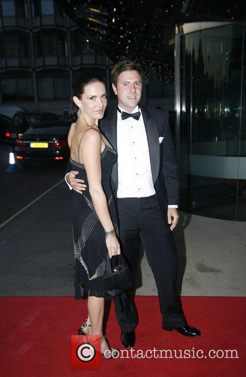 Sophie Anderton and James Simpson arriving at the...