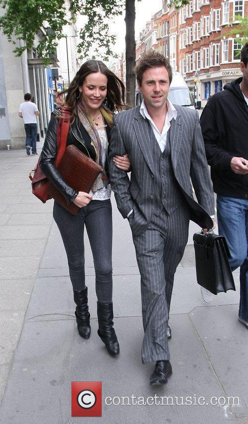 Sophie Anderton out and about in London