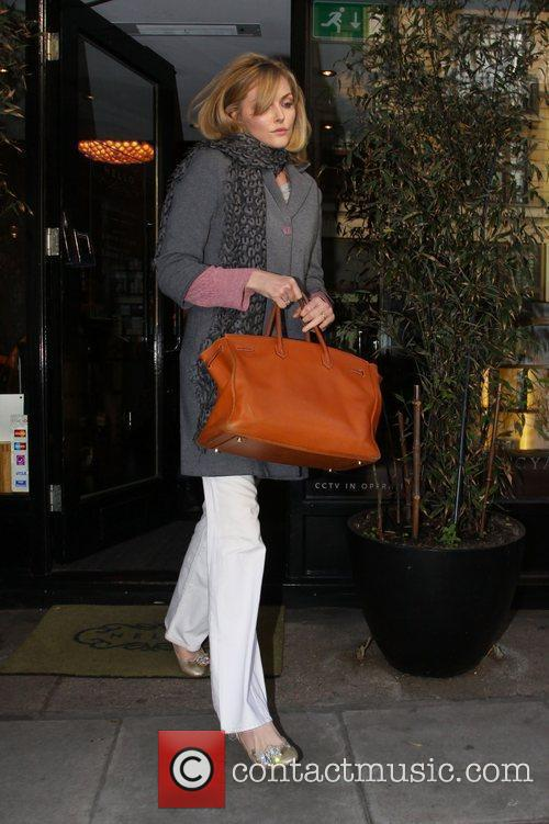 Sophie Dahl  leaving a hairdressers in Great...