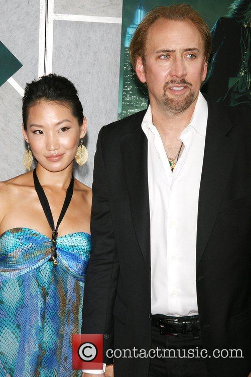 Alice Kim, Nicolas Cage World premiere of 'The...