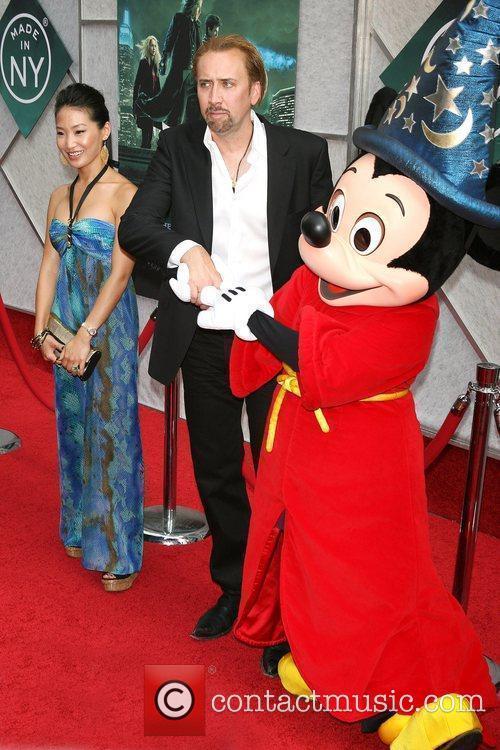 Alice Kim, Nicolas Cage, Micky Mouse World premiere...