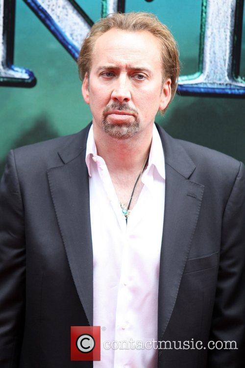 Nicolas Cage World premiere of 'The Sorcerer's Apprentice'...