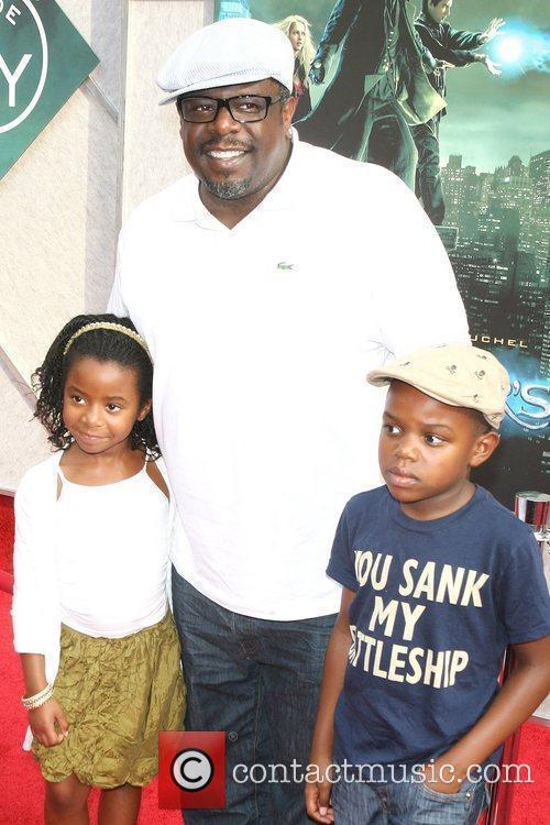 Cedric The Entertainer, and Kids World premiere of...