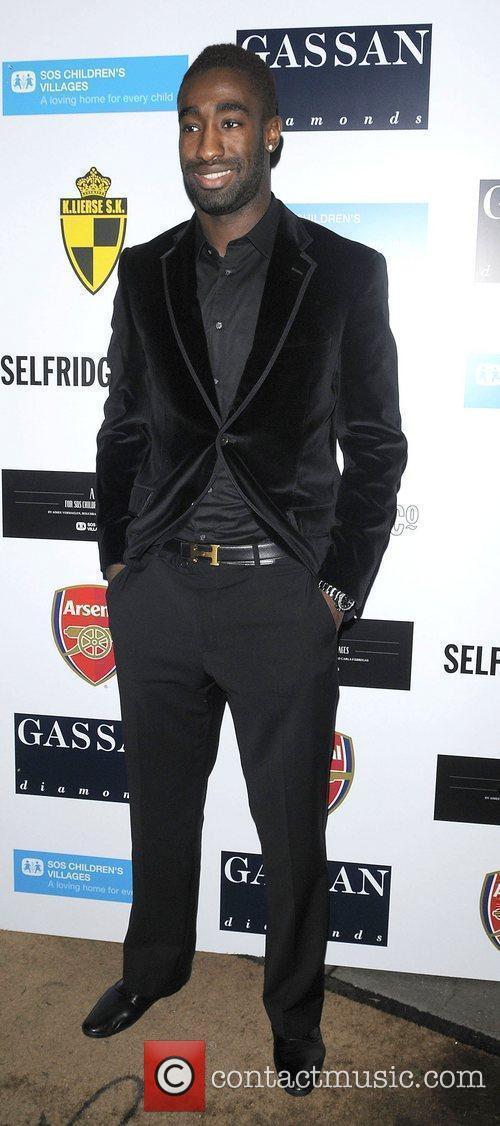 Arsenal defender Johan Djourou arriving at ABC for...
